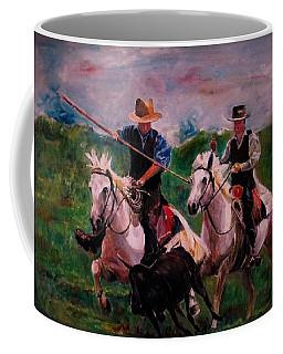 Herdsmen Coffee Mug by Khalid Saeed