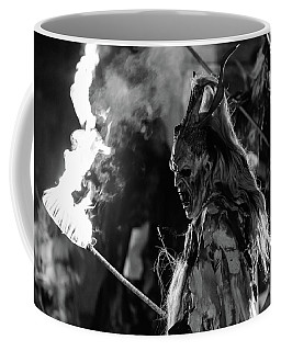 Here Come The Krampus. Christmas Is Coming Coffee Mug
