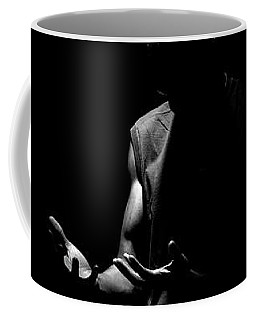 Coffee Mug featuring the photograph Here by Eric Christopher Jackson