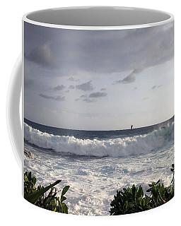 Here It Comes Coffee Mug by Karen Nicholson