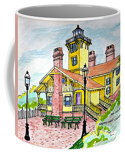 Hereford Lighthouse Nj Coffee Mug by Paul Meinerth