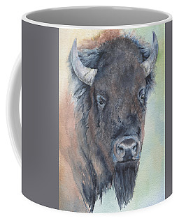 Here's Looking At You - Bison Coffee Mug
