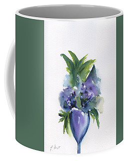 Coffee Mug featuring the painting Here's To Life by Frank Bright