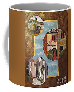 Coffee Mug featuring the painting Heritage by Judy Via-Wolff