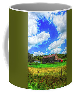 Herkimer County Barn Coffee Mug