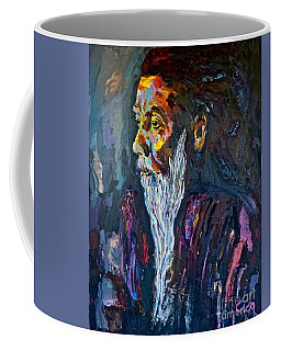 Hermit At Golden Rock, Burma Coffee Mug
