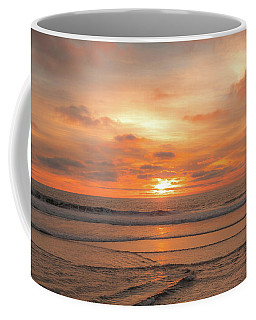 Coffee Mug featuring the photograph Hermosa Sunset Classic3 by Michael Hope