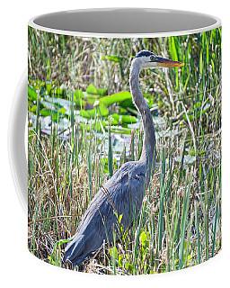 Heron By The Riverside Coffee Mug