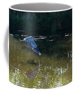 Heron Flight Coffee Mug