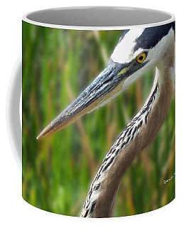 Heron Head Coffee Mug