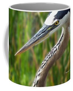Heron Head Coffee Mug