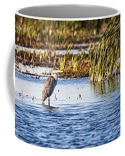 Heron - Horicon Marsh - Wisconsin Coffee Mug