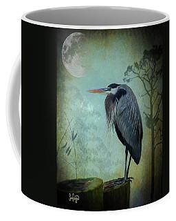 Heron Moon Coffee Mug