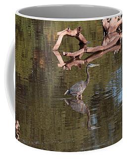 Heron Reflection Coffee Mug