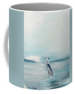 Heron Silence Coffee Mug