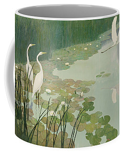 Herons In Summer Coffee Mug