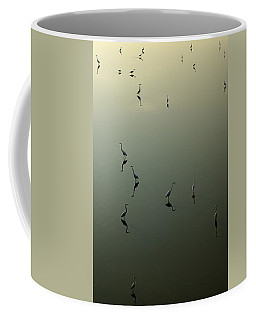 Herons On Lake 367 Coffee Mug