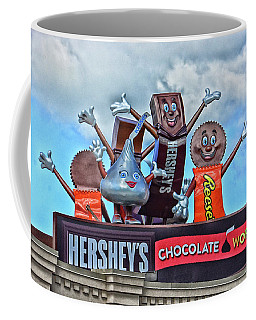 Hershey's Chocolate World Sign Coffee Mug