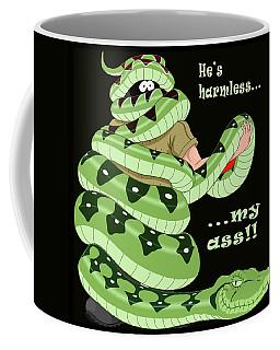 Hes Harmless My Ass Coffee Mug
