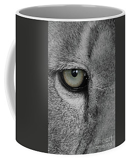 He's Watching Me  Black And White  T O C Coffee Mug