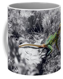 Hey, I'm Posing Here Coffee Mug by Charles Ables
