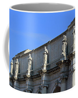 Hey Is That Joe Biden One Statue Said To Another At Union Station Coffee Mug