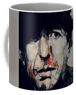 Hey That's No Way To Say Goodbye - Leonard Cohen Coffee Mug