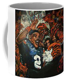Hi Five Victory Coffee Mug by Carole Foret