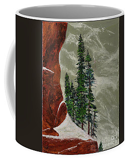 Hi Mountain Pine Trees Coffee Mug