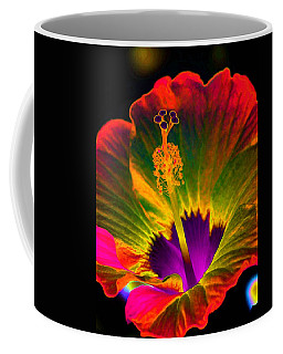 Hibiscus 01 - Summer's End - Photopower 3189 Coffee Mug by Pamela Critchlow