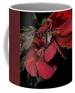 Hibiscus After The Rain Coffee Mug