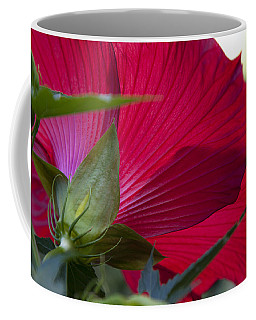 Coffee Mug featuring the photograph Hibiscus by Charles Harden
