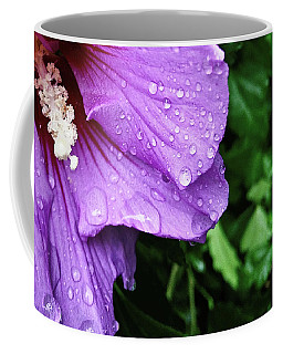 Coffee Mug featuring the photograph Hibiscus Corner by Robert Knight