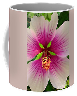 Hibiscus Face Coffee Mug