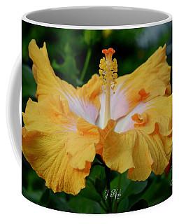 Hibiscus Golden Mist Coffee Mug
