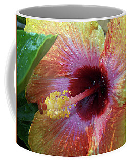 Hibiscus Coffee Mug by Suhas Tavkar