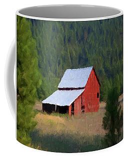 Coffee Mug featuring the painting Hidden Away P D P by David Dehner