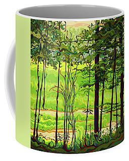 Hidden Beyond The Green Coffee Mug