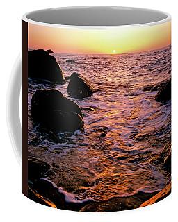 Hidden Cove Sunset Redwood National Park Coffee Mug