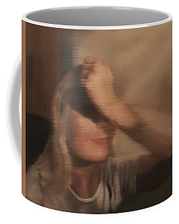 Hidden Gaze Coffee Mug by Cherise Foster