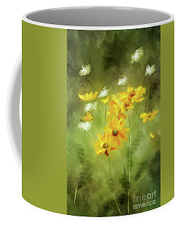 Coffee Mug featuring the digital art Hidden Gems by Lois Bryan