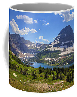 Hidden Lake And Bearhat Mountain Coffee Mug