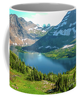 Hidden Lake Glacier National Park Coffee Mug