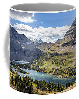 Coffee Mug featuring the photograph Hidden Lake Overlook by Jemmy Archer