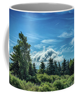 Coffee Mug featuring the photograph Hidden Rails by Guy Whiteley