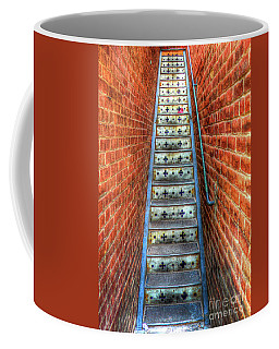 Hidden Stairway In Old Bisbee Arizona Coffee Mug