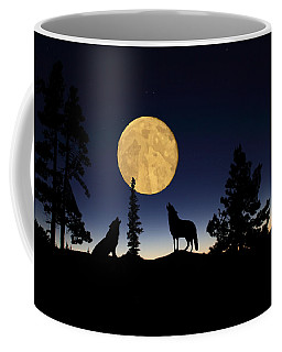 Hidden Wolves Coffee Mug