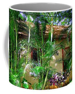 Hiding Behind The Arecas Coffee Mug