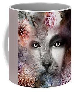 Hiding Catlady Coffee Mug