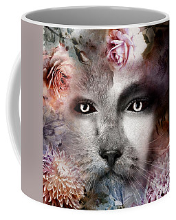 Hiding Catlady Coffee Mug